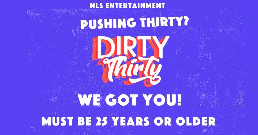 "KLUBB: Dirty Thirty  ""Pushing thirty We Got You""! LIVE KARIBISK ARTIST: Rygin King | DJS"