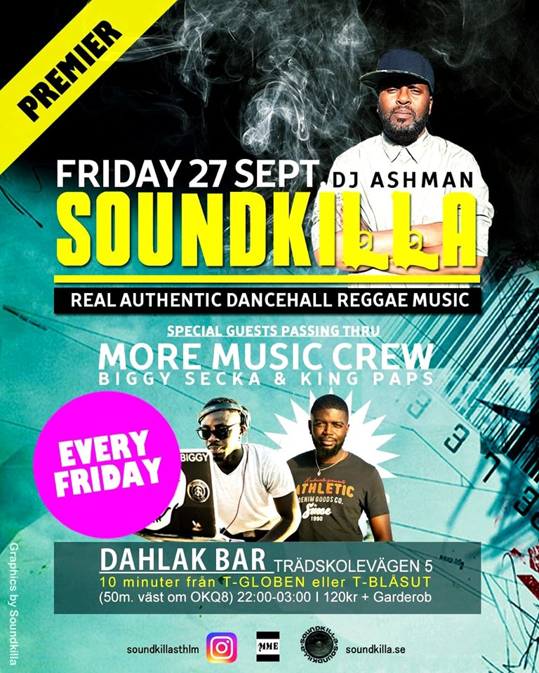 KLUBB: Soundkilla! (STOCKHOLM)