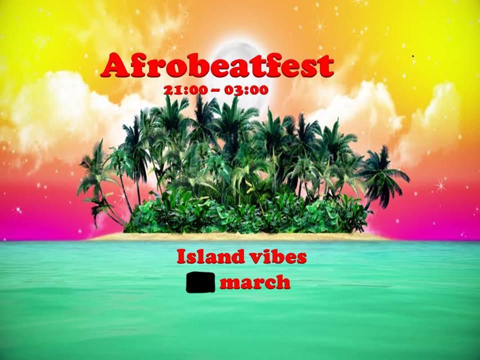 KLUBB: Afrobeatfest. Dancehall, hiphop, R&b, soca