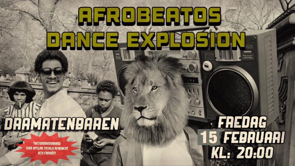 Klubb: Afrobeatos Dance Explosion Live at Dramatenbaren