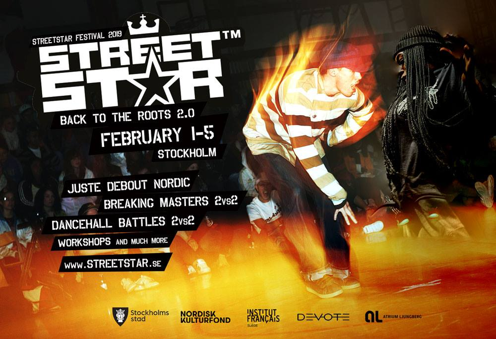 Streetstar Festival in Stockholm for the 14th consecutive year!