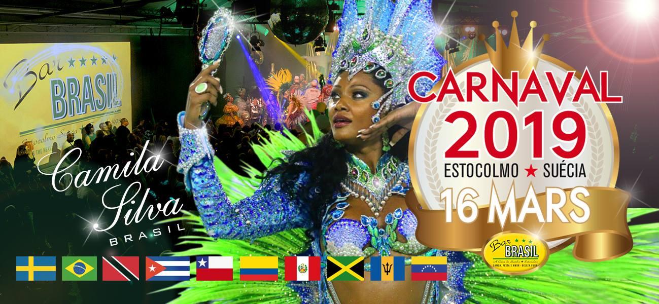 Evenemang: Carnaval de Estocolmo 2019 - 16 Mars