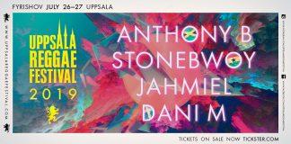 uppsalareggaefestival, stonebwoy