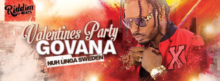 Klubb: Valentines Party Live: Govana | Soundkilla | Riddim & Beats!