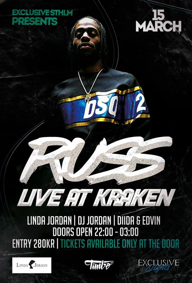 Exclusive events presenterar Russ