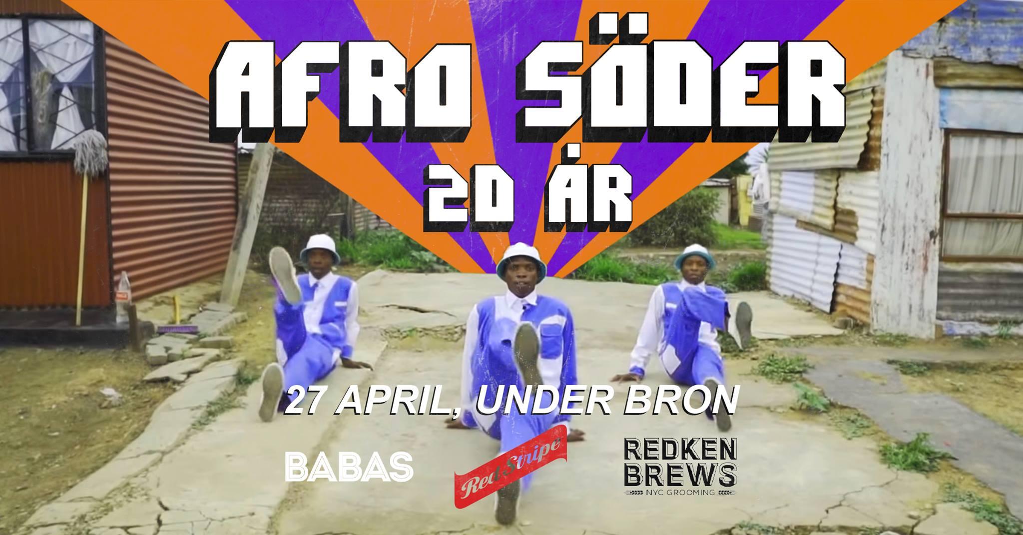 Klubb: Afro Söder 20 år!