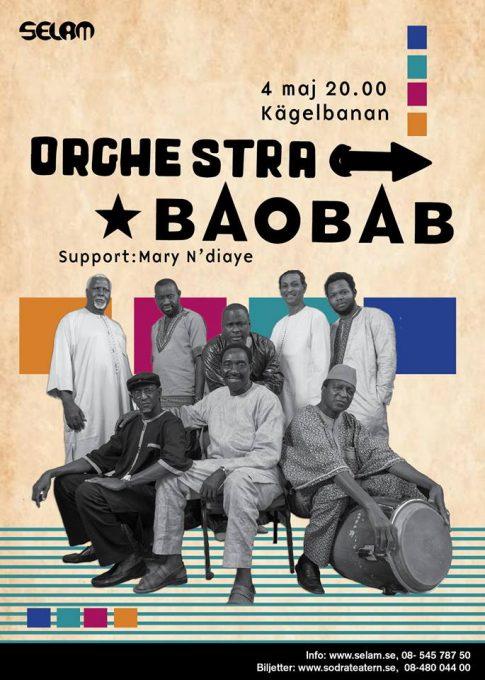 Konsert: Orchestra Baobab | Support: Mary N'diaye