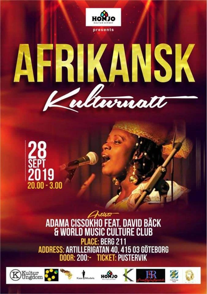 EVENEMANG: Afrikansk Kulturnatt (GÖTEBORG!)