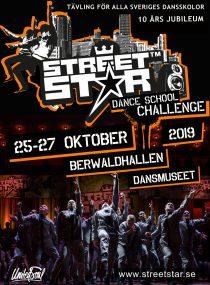 EVENEMANG: Streetstar Dance School Challenge firar 10-års jubileum! (STOCKHOLM)