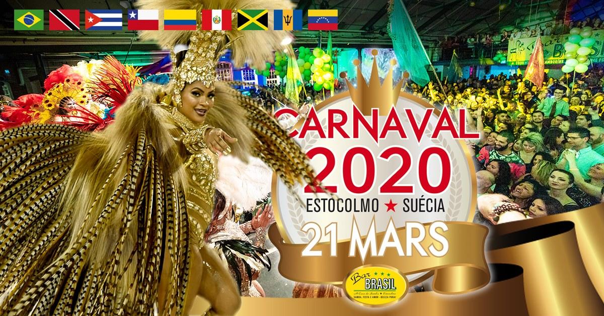 EVENEMANG:  Carnaval de Estocolmo 2020 - STOCKHOLM