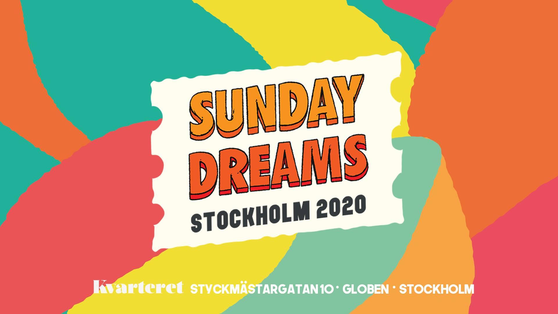 KLUBB: Sunday Dreams Sthlm 2020 - STOCKHOLM