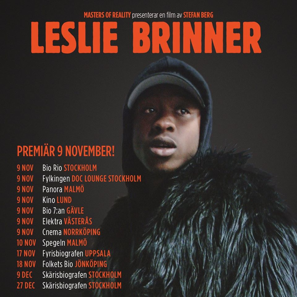 EVENEMANG: Filmpremiär Leslie Brinner