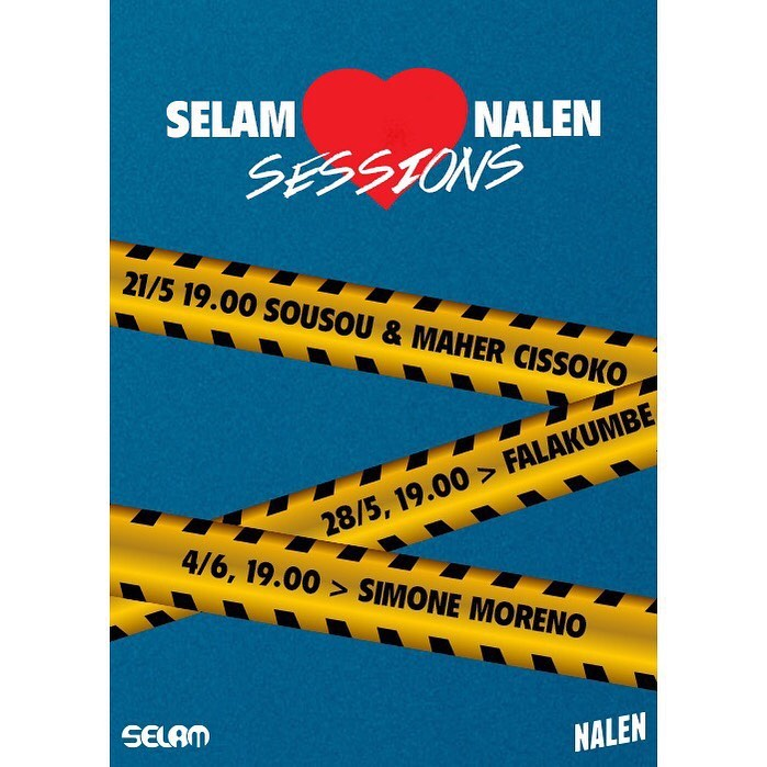 Livestream: Selam x Nalen Sessions!