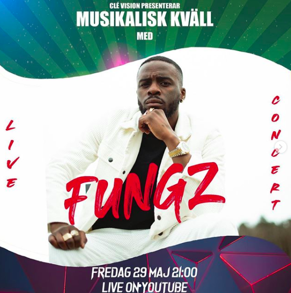 Livestream: Musikalisk kväll med Fungz!
