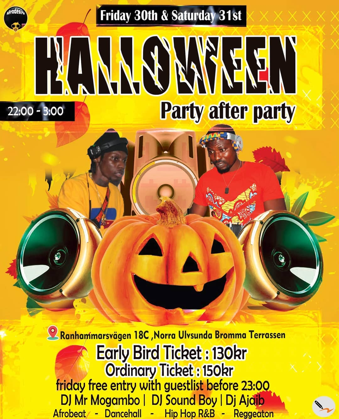 KLUBB: Halloween - Party after party - Stockholm