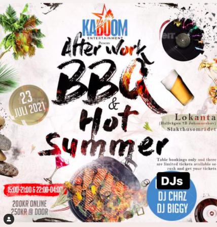 EVENEMANG! Afterwork BBQ @Lokanta (STOCKHOLM)