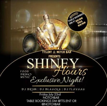 KLUBB! Shiney Hours @ Notch Bar (GÖTEBORG)