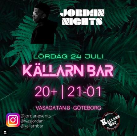 KLUBB! Jordan Nights (GÖTEBORG)