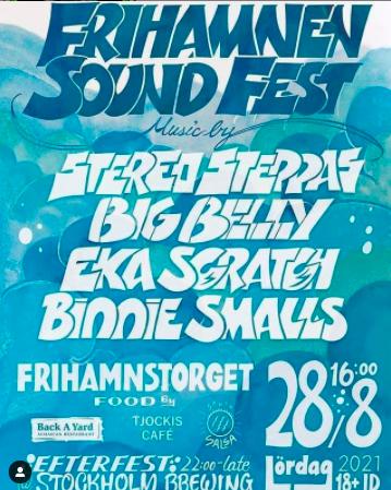 EVENEMANG! Frihamnen Sound Fest (STOCKHOLM)